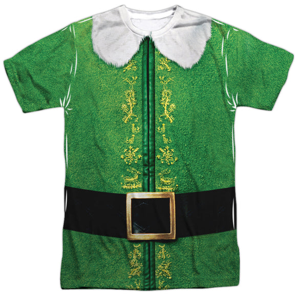 MEN'S ELF BUDDY COSTUME SUBLIMATED TEE