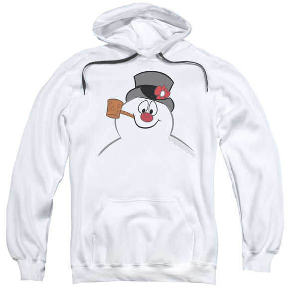 MEN'S FROSTY THE SNOWMAN FROSTY FACE PULLOVER HOODIE