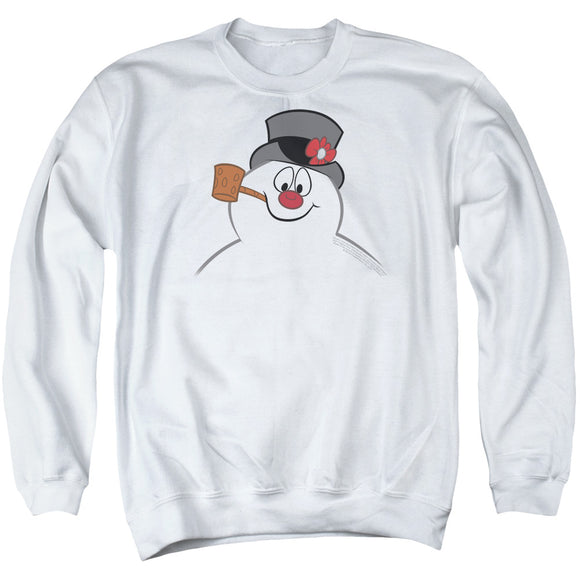MEN'S FROSTY THE SNOWMAN FROSTY FACE CREWNECK SWEATSHIRT