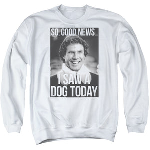MEN'S ELF MUST LOVE DOGS CREWNECK SWEATSHIRT