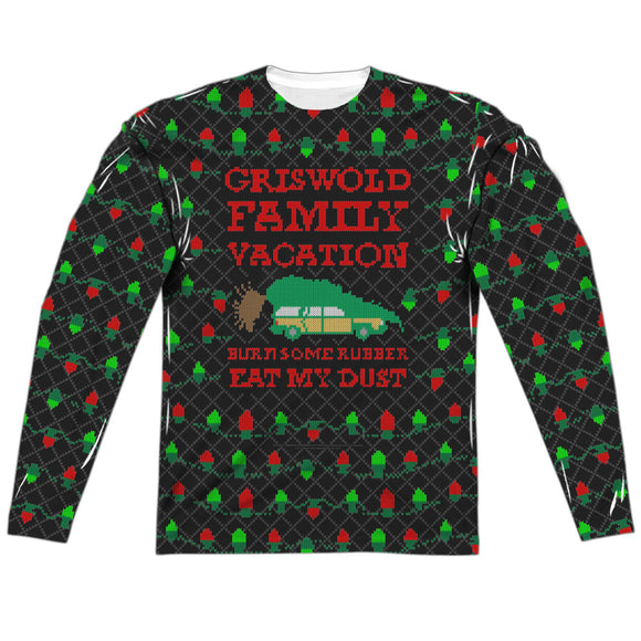 MEN'S CHRISTMAS VACATION VACATION SWEATER LONG SLEEVE TEE