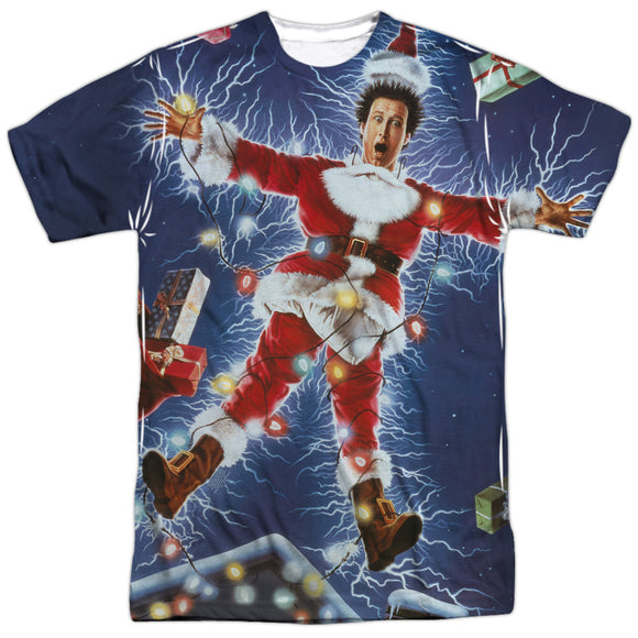 MEN'S CHRISTMAS VACATION ELECTRIFIED SUBLIMATED TEE