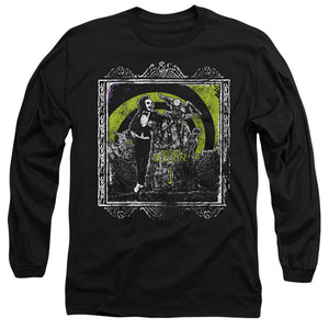 MEN'S BEETLEJUICE HERE LIES LONG SLEEVE TEE