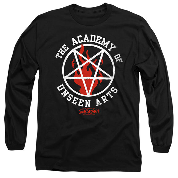 MEN'S CHILLING ADVENTURES OF SABRINA ACADEMY OF UNSEEN ARTS LONG SLEEVE TEE