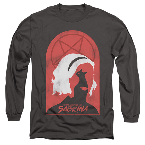 MEN'S CHILLING ADVENTURES OF SABRINA SABRINA AND SALEM LONG SLEEVE TEE