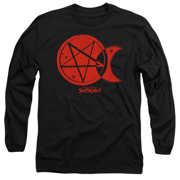 MEN'S CHILLING ADVENTURES OF SABRINA DARK MOON LONG SLEEVE TEE