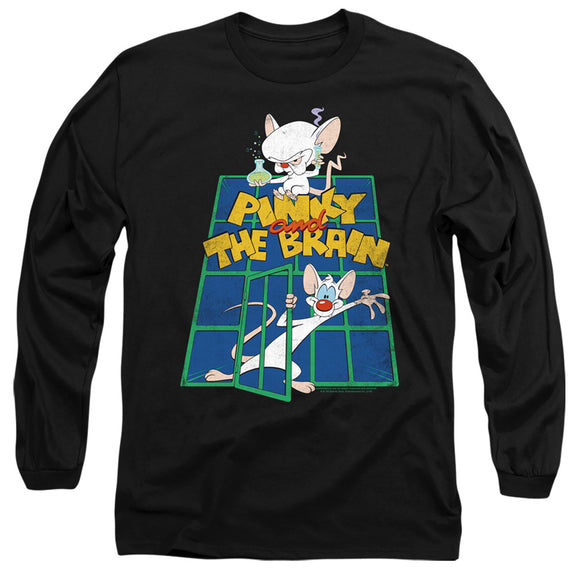 MEN'S PINKY AND THE BRAIN OL STANDARD LONG SLEEVE TEE