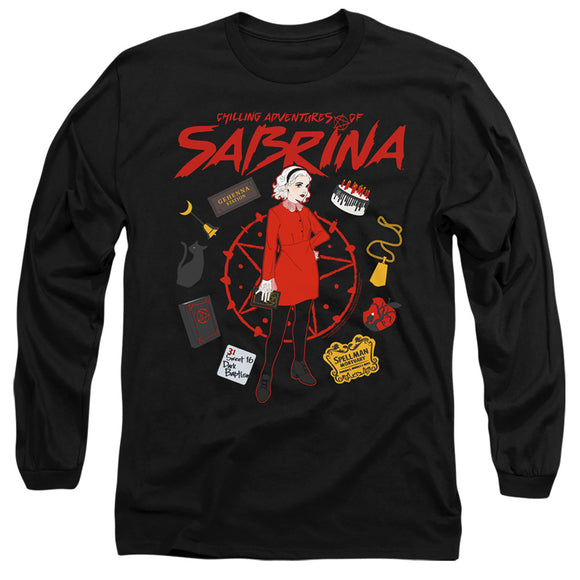 MEN'S CHILLING ADVENTURES OF SABRINA CIRCLE LONG SLEEVE TEE
