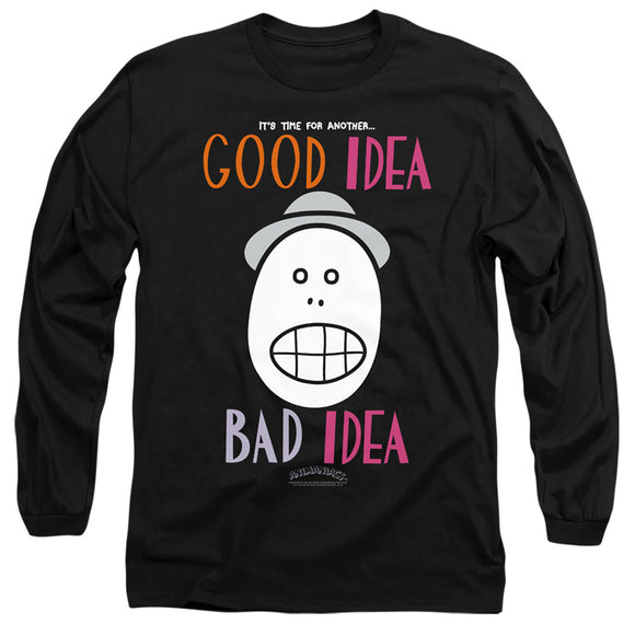 MEN'S ANIMANIACS GOOD IDEA BAD IDEA LONG SLEEVE TEE