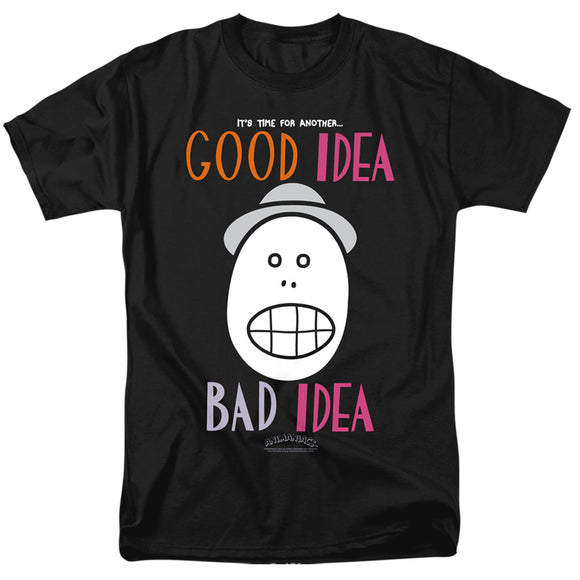 Men's Animaniacs Good Idea Bad Idea Tee