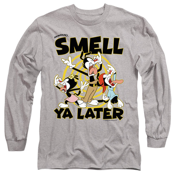 MEN'S ANIMANIACS SMELL YA LATER LONG SLEEVE TEE