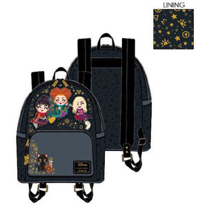 LOUNGEFLY DISNEY HOCUS POCUS CHIBI MINI BACKPACK