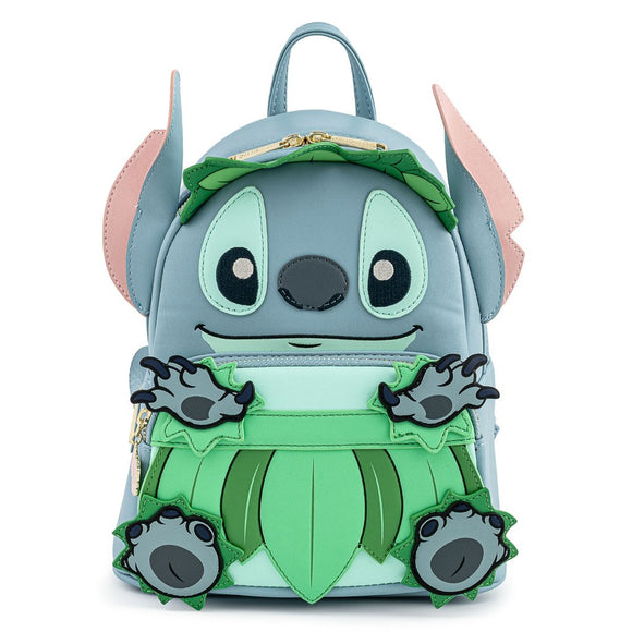 Loungefly Disney Lilo & Stitch Luau Cosplay Mini Backpack