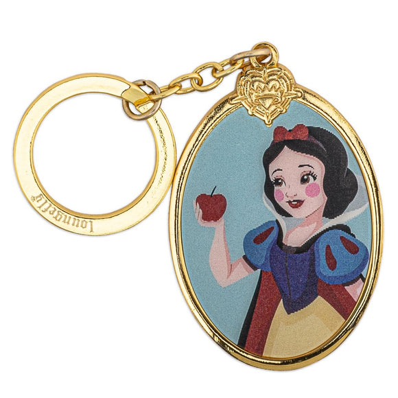 Loungefly Disney Snow White and the Seven Dwarfs Lenticular Enamel Keychain - Preorder