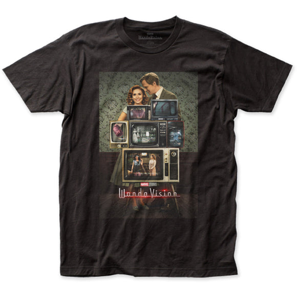 Men's Marvel WandaVison TV Poster Tee