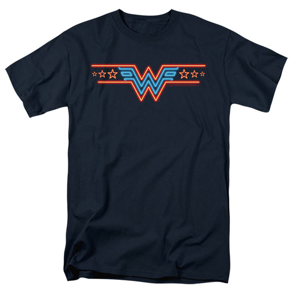 MEN'S WONDER WOMAN 84 NEON BEAT TEE