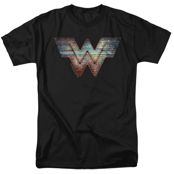 MEN'S WONDER WOMAN 84 STATIC LOGO TEE