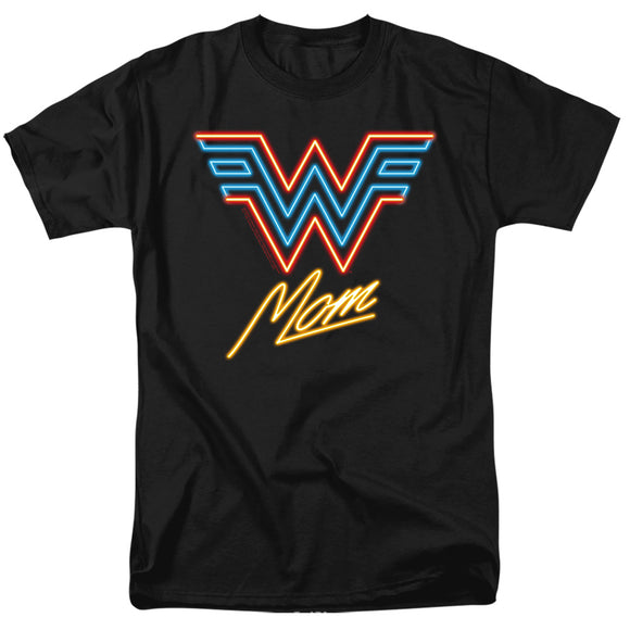 MEN'S WONDER WOMAN 84 WONDER MOM NEON TEE