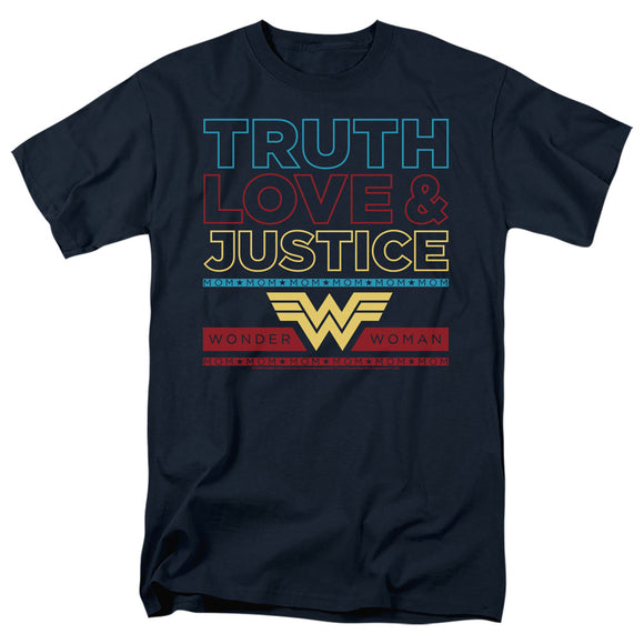 MEN'S WONDER WOMAN 84 TRUTH LOVE JUSTICE TEE