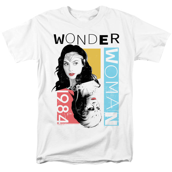 MEN'S WONDER WOMAN 84 COLOR BLOCKS TEE