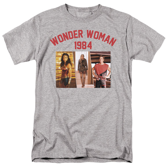 MEN'S WONDER WOMAN 84 COLLEGIATE MONTAGE TEE