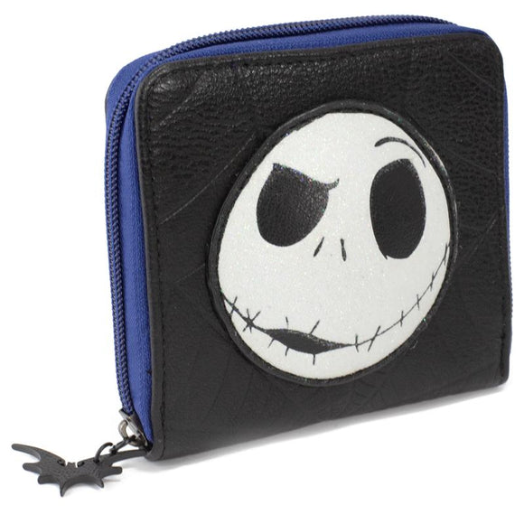 DISNEY THE NIGHTMARE BEFORE CHRISTMAS JACK EXPRESSION/SPIDER WEB WALLET