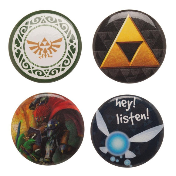 ZELDA BUTTON SET - Blue Culture Tees