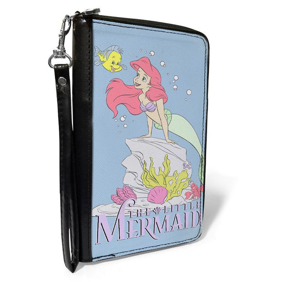 DISNEY THE LITTLE MERMAID FLOUNDER AND ARIEL POSE WALLET