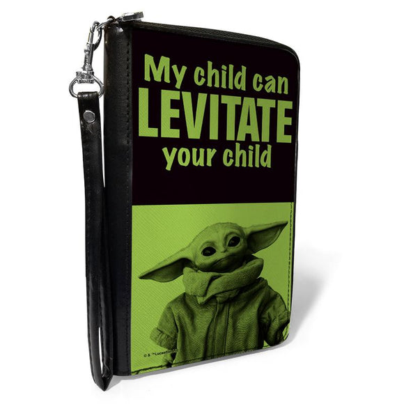 STAR WARS THE CHILD STANDING POSE MY CHILD CAN LEVITATE YOUR CHILD WALLET