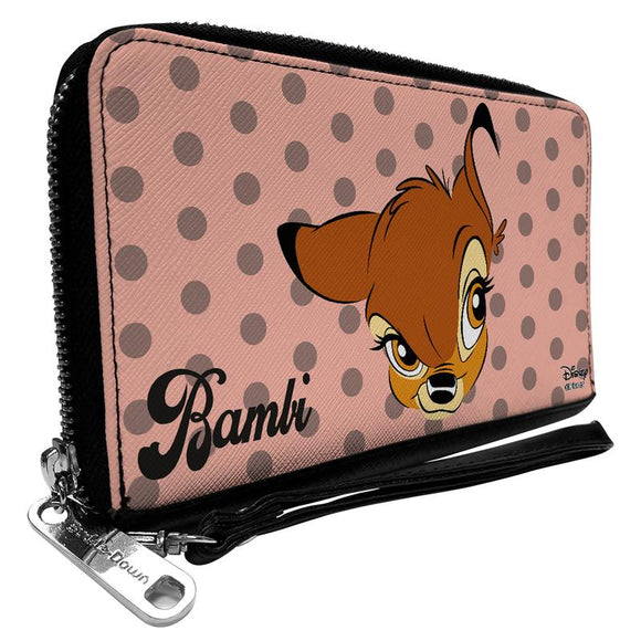 Disney Bambi Face Dots Wallet