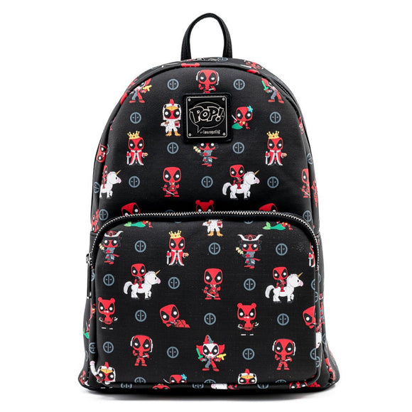 Funko Pop! by Loungefly Marvel Deadpool 30th Anniversary AOP Mini Backpack - Preorder