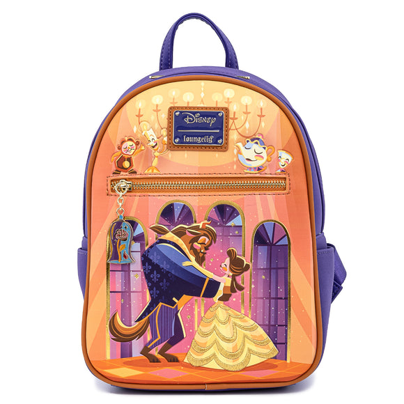 Loungefly Disney Beauty and the Beast Ballroom Scene Mini Backpack - Preorder