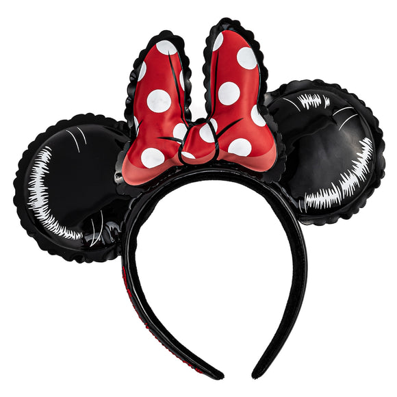 Loungefly Disney Minnie Mouse Balloon Ears with Bow Headband - Preorder