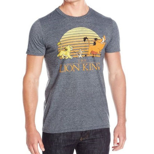 MEN'S DISNEY THE LION KING SUN TEE - Blue Culture Tees