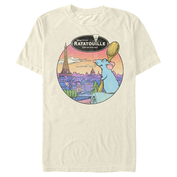 Men's Disney Ratatouille View of Paris Tee