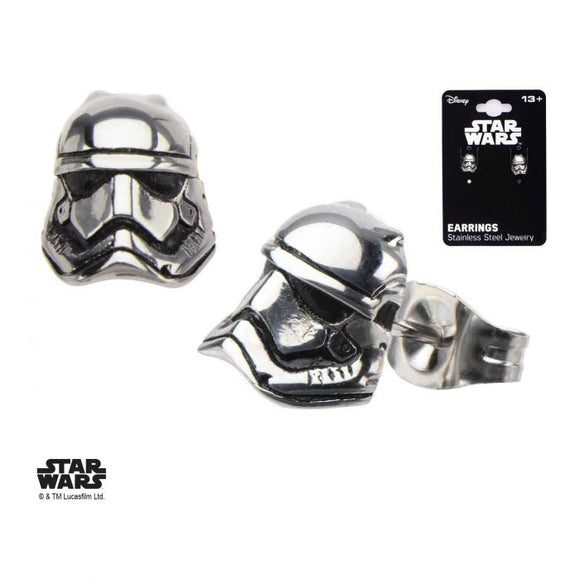 Star Wars Episode 7 Stormtrooper Stud Earrings