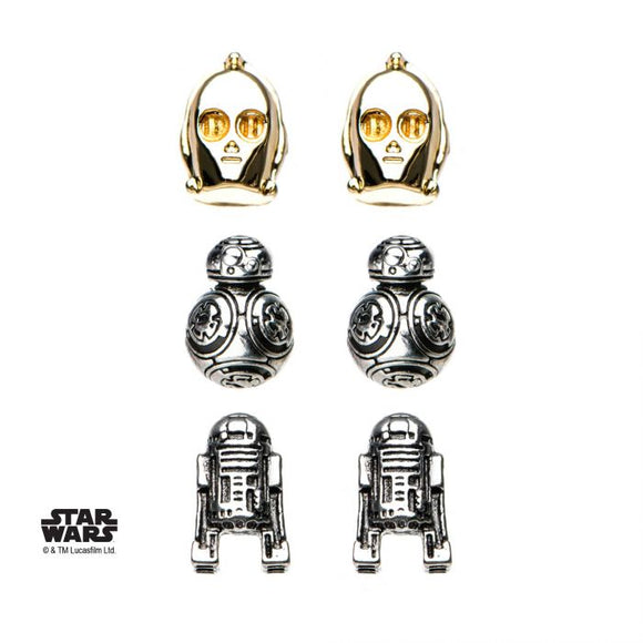 Star Wars Episode 8 Droid Stud Earrings