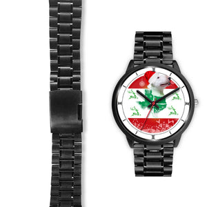 Bull Terrier Texas Christmas Special Wrist Watch-Free Shipping