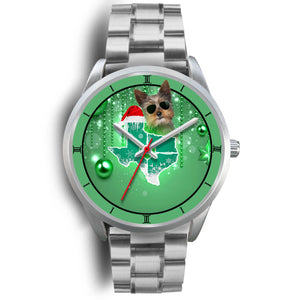 Yorkie Texas Christmas Special Wrist Watch-Free Shipping