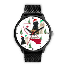Poodle Dog California Christmas Special Wrist Watch-Free Shipping