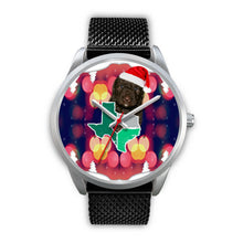 Spanish Water Dog Texas Christmas Special Wrist Watch-Free Shipping