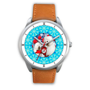 Old English Sheepdog New York Christmas Special Wrist Watch-Free Shipping