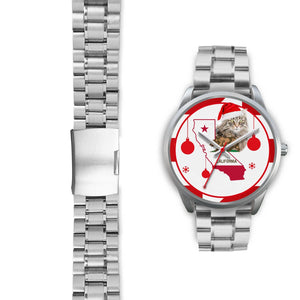 Norwegian Forest Cat California Christmas Special Wrist Watch-Free Shipping