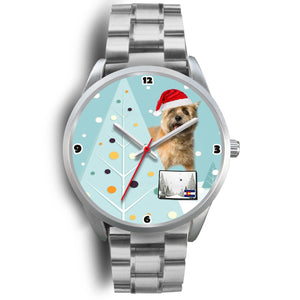 Cairn Terrier Colorado Christmas Special Wrist Watch-Free Shipping