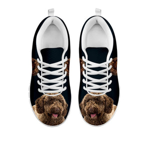 Amazing Spanish Water Dog Print Running Shoes For Women-Free Shipping-For 24 Hours Only