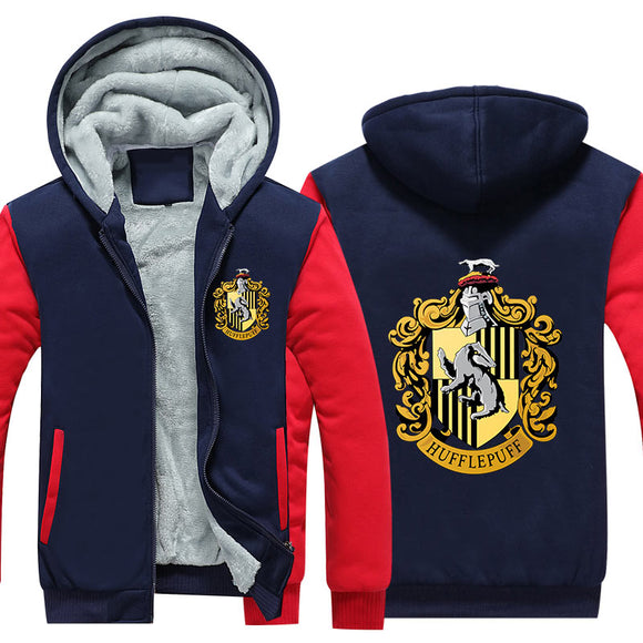 Harry Potter Hufflepuff Pull à Capuche Sweat-shirts à Capuche