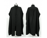 Harry Potter Severus Snape Costume Noir Cosplay Carnaval Cosplay
