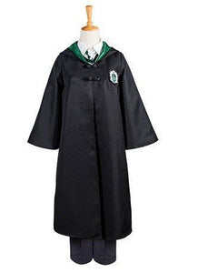 Harry Potter Slytherin Uniforme Draco Malfoy Cape à Capuche