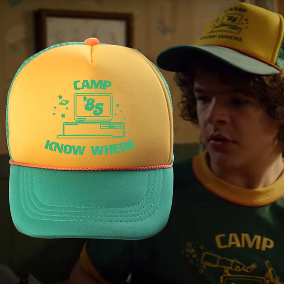 Stranger Things Season 3 Dustin Casquette De Baseball Chapeau Réglable