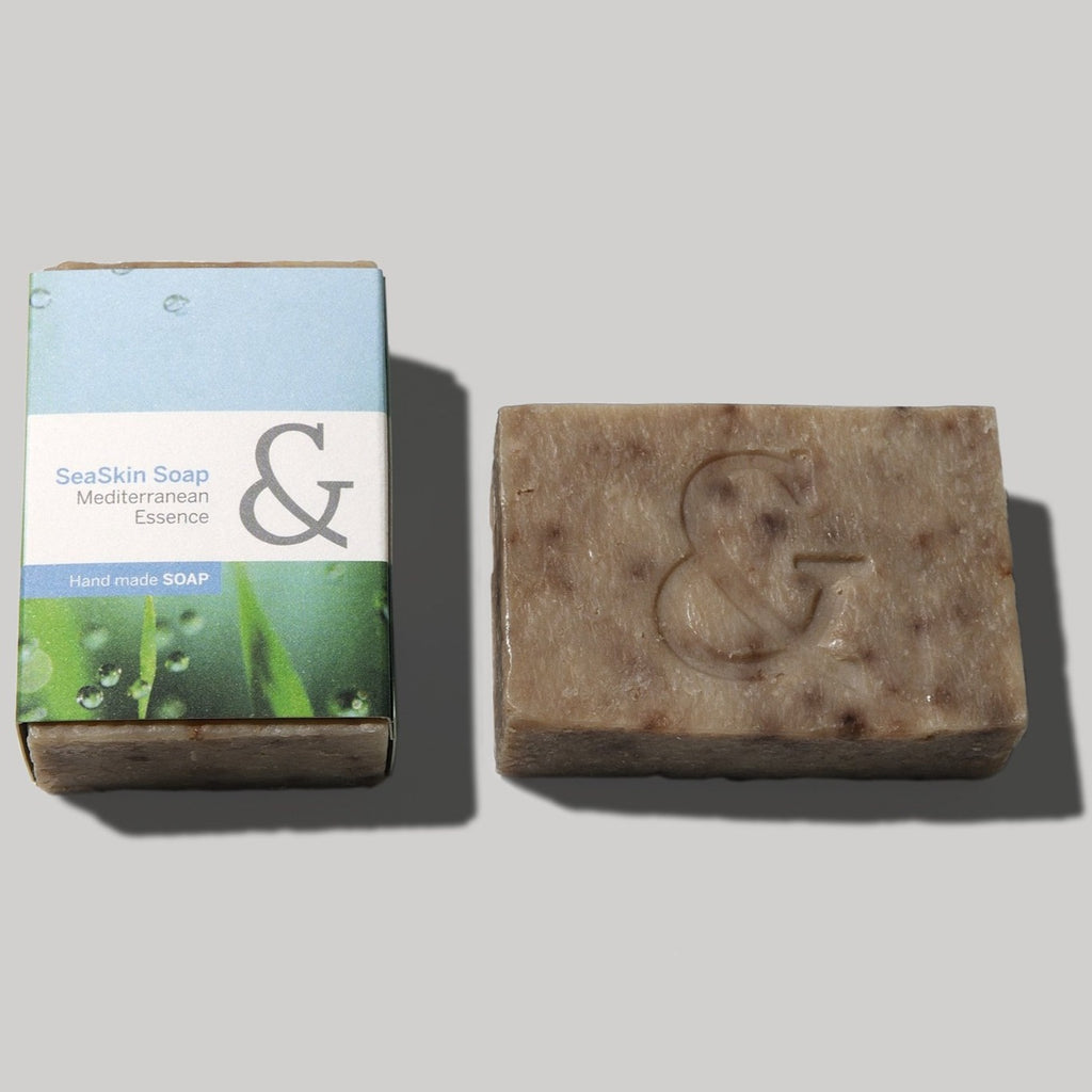 SeaSkin handmade soap organic and active ingredients, Rosehip, argán, propolis